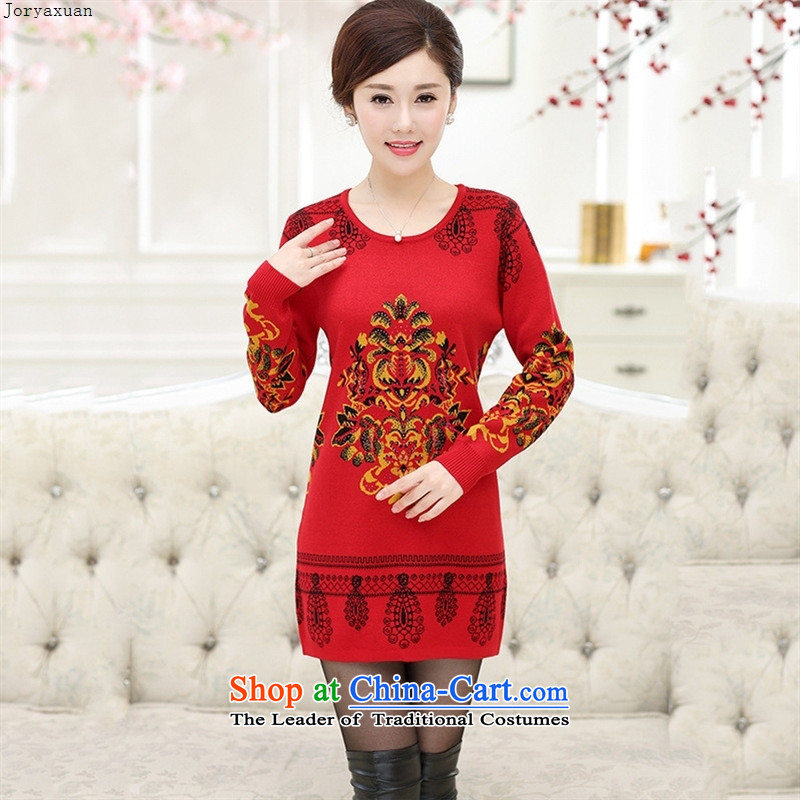 Web soft trappings of older stylish Korean mother replacing autumn and winter sets in the header of new products long suit stamp forming the woolen sweater shirt black聽, L-ya Xuan (joryaxuan) , , , shopping on the Internet