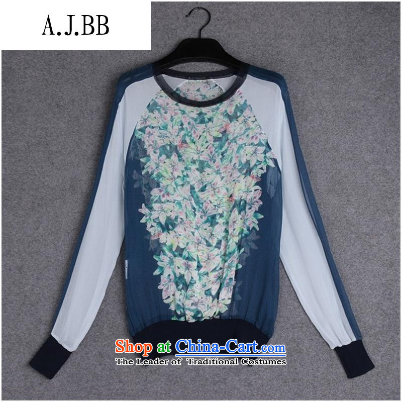 The Secretary for Health related shops *37A853 European site autumn new for women with silk shirt color picture stamp�XL