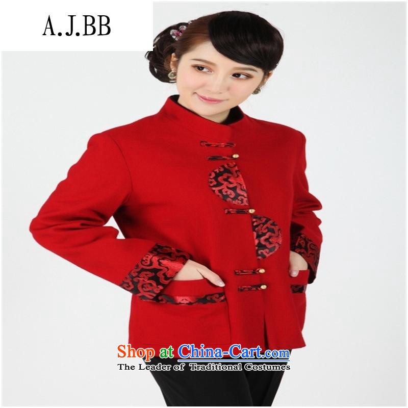 The Secretary for Health concerns of older women clothes shops _ replacing Tang jackets for winter mother blouses elderly grandmothers boxed?, Red燣 gross