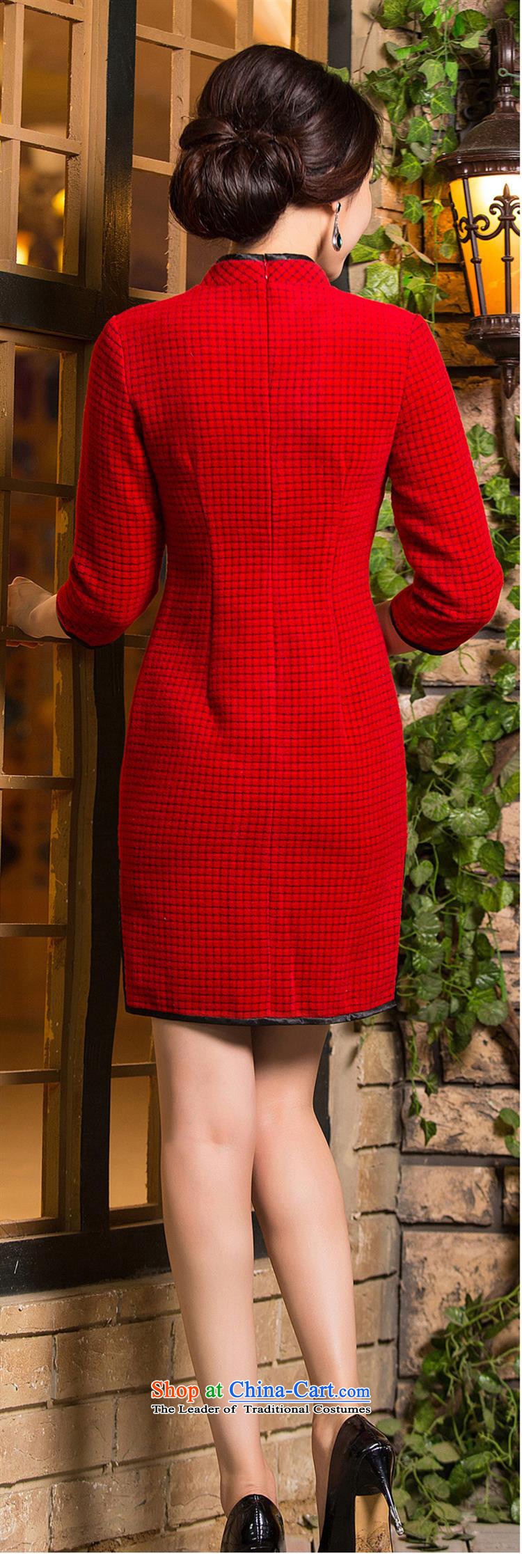 Optimize the bell shop cheongsam 2015 new fall short of replacing cuff thick wool double wedding dresses? red聽L picture, prices, brand platters! The elections are supplied in the national character of distribution, so action, buy now enjoy more preferential! As soon as possible.