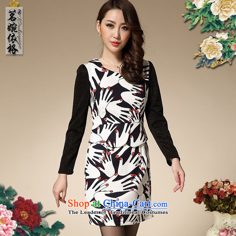Mano-hwan in older women's palm dress photo color?S