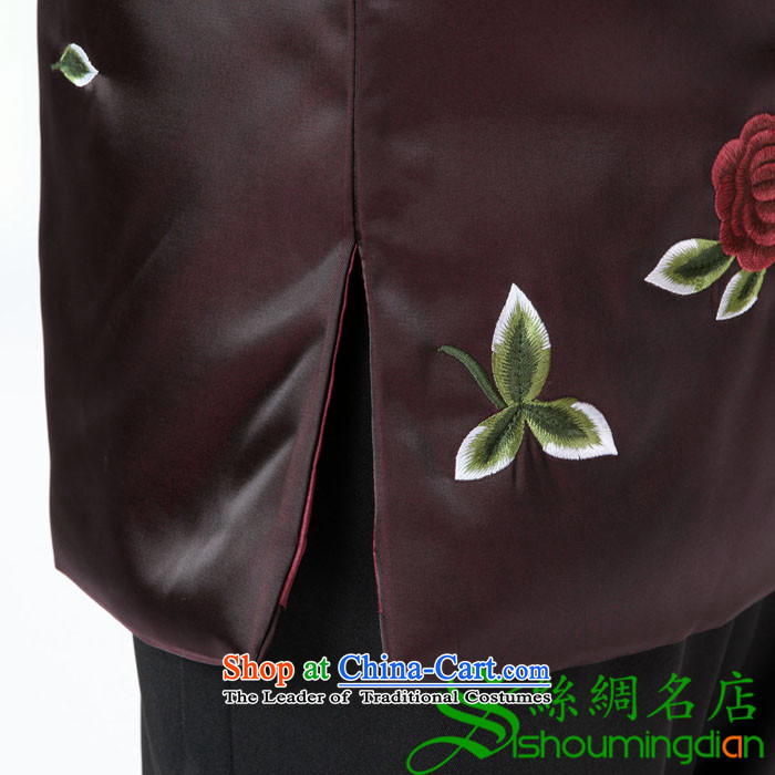 The elderly in the new GENYARD ãþòâ winter coats mother auspicious China wind Tang dynasty cotton coat embroidered robe mother red XXL picture, prices, brand platters! The elections are supplied in the national character of distribution, so action, buy now enjoy more preferential! As soon as possible.