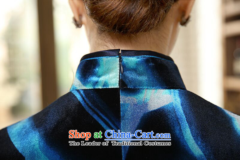 To heart multimedia cabinet, Sau San video thin CHINESE CHEONGSAM elegant bride wedding dress Stretch Wool improved China wind collar qipao Figure聽2XL color pictures, prices, brand platters! The elections are supplied in the national character of distribution, so action, buy now enjoy more preferential! As soon as possible.