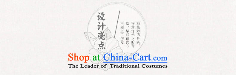Yuan of bloom on the new 2015 skirt autumn load improvement qipao cheongsam dress in long double long cheongsam look stylish retro M12038 White XL Photo, prices, brand platters! The elections are supplied in the national character of distribution, so action, buy now enjoy more preferential! As soon as possible.