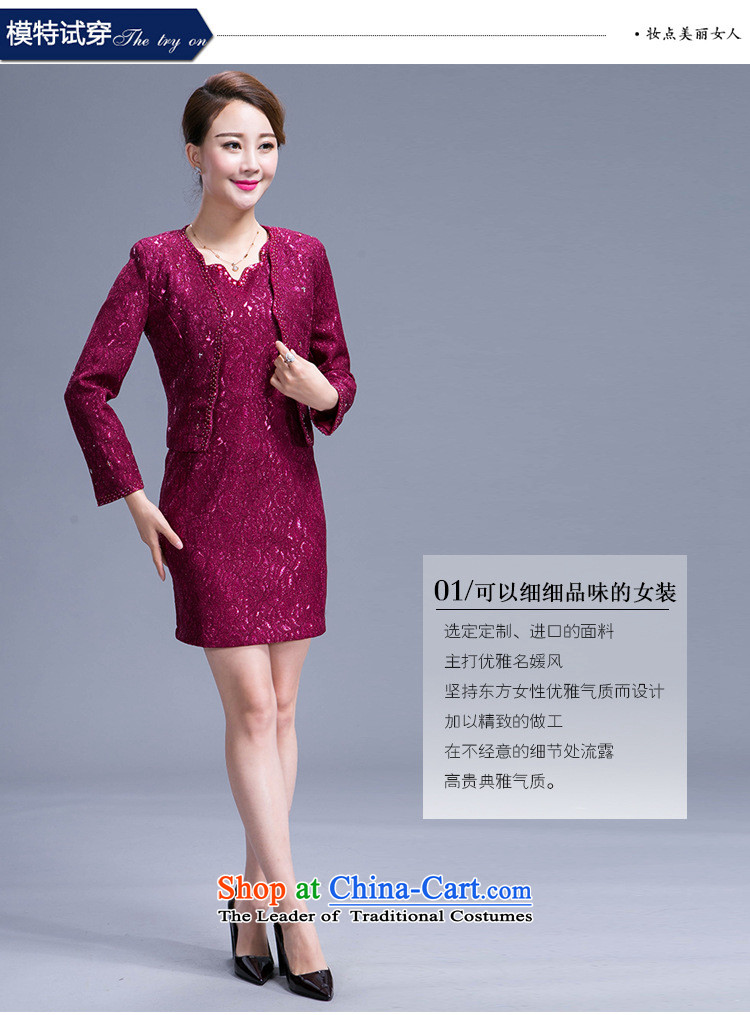 Ms Rebecca Pun stylish shops wedding dresses mother in the atmosphere of older women's larger temperament with mother Sau San purple L picture, prices, brand platters! The elections are supplied in the national character of distribution, so action, buy now enjoy more preferential! As soon as possible.
