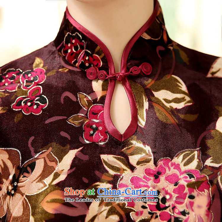 Dan Chu load new smoke, Chinese improved water droplets Stretch Wool for the medium to longer term, cuff Sau San cheongsam dress Figure聽2XL color pictures, prices, brand platters! The elections are supplied in the national character of distribution, so action, buy now enjoy more preferential! As soon as possible.