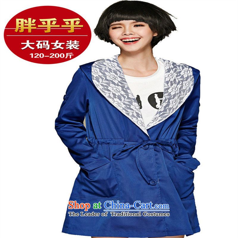Orange Tysan _2015 Autumn Replace tether to xl new graphics thin leisure thick MM temperament wind jacket blue XXL