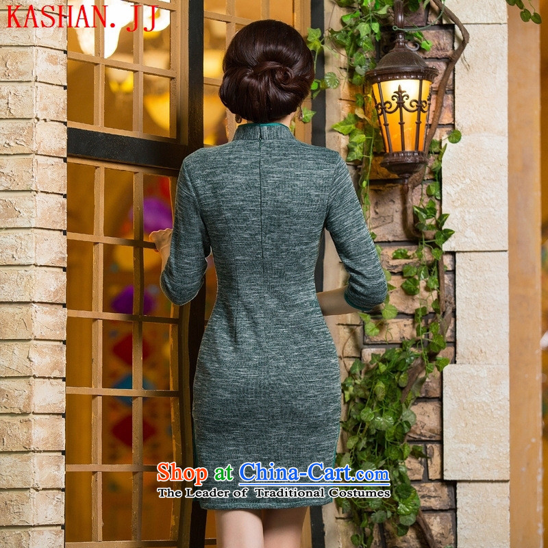 Mano-hwan's qipao autumn and winter new products, in short? gross cuff qipao retro ethnic costumes dresses 298 M, Susan Sarandon Zaoyuan (KASHAN.JJ card) , , , shopping on the Internet