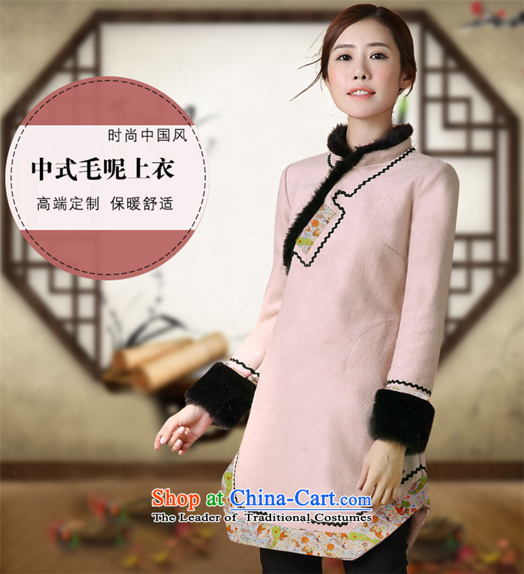 Tang Tang Dynasty Ramadan products female Winter Han-improved costume 2015 winter supplies Tang Ramadan China wind female Tang jackets qipao shirt map color S picture, prices, brand platters! The elections are supplied in the national character of distribution, so action, buy now enjoy more preferential! As soon as possible.