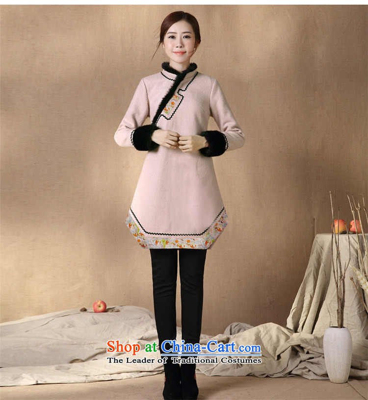 Tang Tang Dynasty Ramadan products female Winter Han-improved costume 2015 winter supplies Tang Ramadan China wind female Tang jackets qipao shirt map colorS picture, prices, brand platters! The elections are supplied in the national character of distribution, so action, buy now enjoy more preferential! As soon as possible.