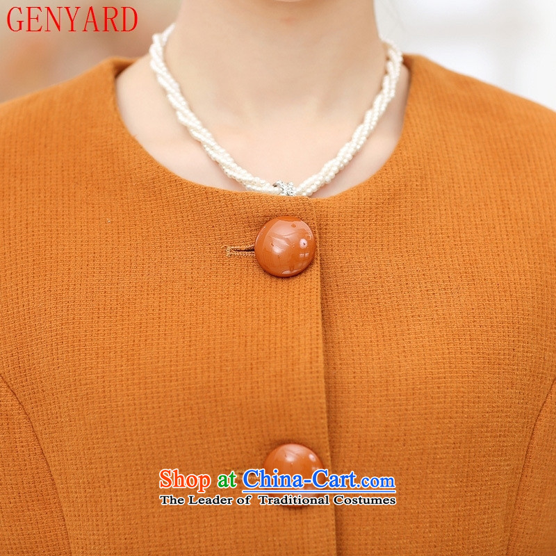 40-50-year-old mother GENYARD Sau San installed in autumn jacket long 50-60-year-old elderly clothing for larger middle-aged female replacing Qiu Xiang green 5XL,GENYARD,,, shopping on the Internet