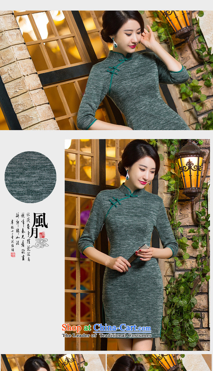 The Secretary for Health related shops * qipao autumn and winter new products, in short? gross cuff qipao retro ethnic costumes dresses 300 XXL picture, prices, brand platters! The elections are supplied in the national character of distribution, so action, buy now enjoy more preferential! As soon as possible.