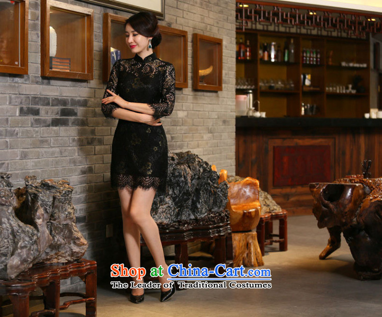Dan聽Chu leads for the new 2015 smoking for women 7 cuff lace qipao and sexy improved stylish Sau San cheongsam dress figure color聽pictures, prices, XL brand platters! The elections are supplied in the national character of distribution, so action, buy now enjoy more preferential! As soon as possible.