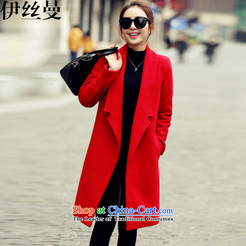 The Cayman 2015 fall, new for women in the thick of gross N108 Red Jacket coat? M