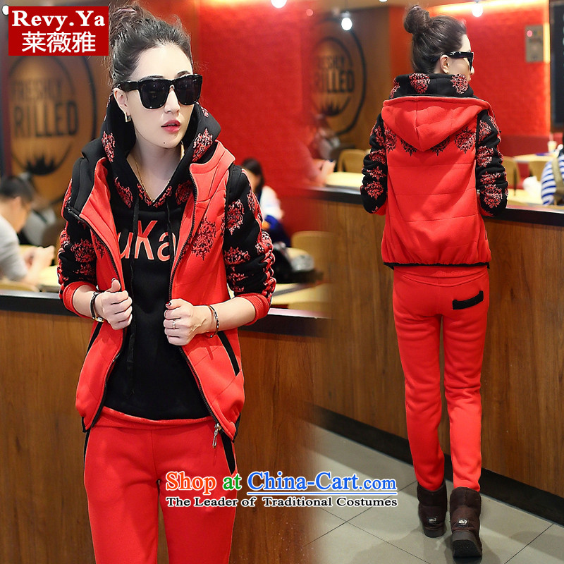 Tony Blair, 2015 new products for autumn and winter sports and leisure Korean Kit Korean sweater kits red L