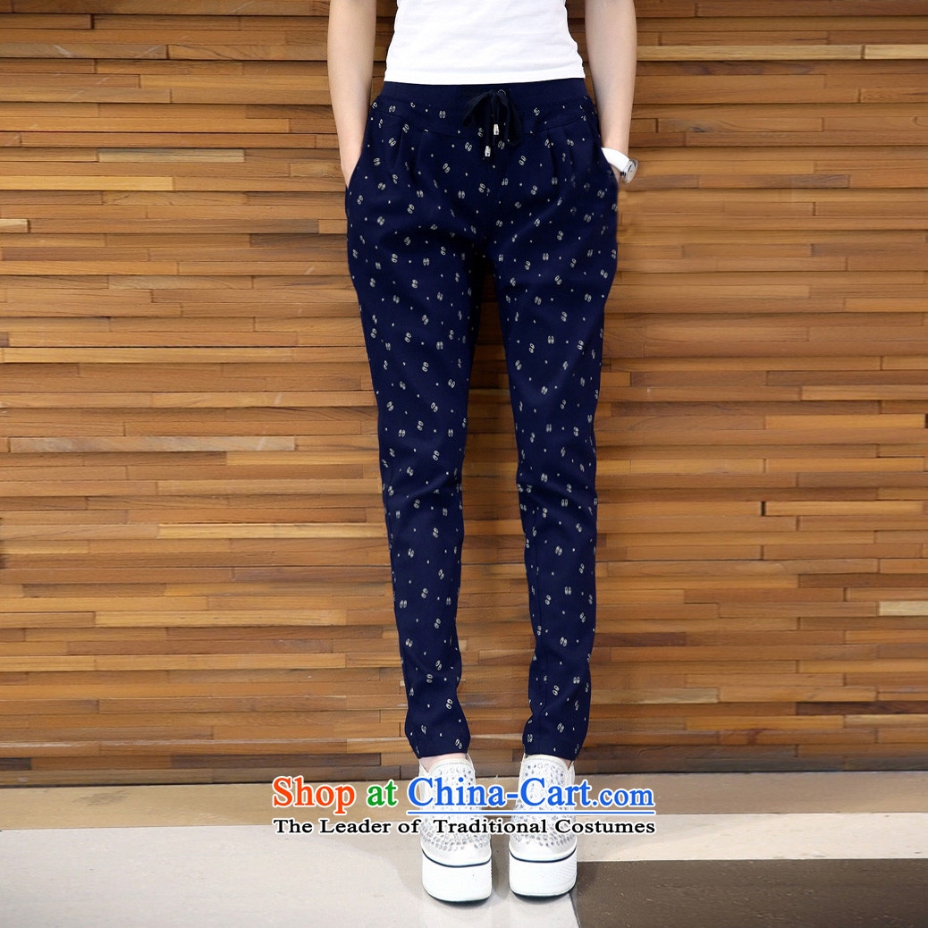 Elizabeth sub-To increase the number of female pants thick mm Fall/Winter Collections Plus elastic waist-thick wool pants thick sister saika trousers Castor Harun trousers K386 navy 3XL picture, prices, brand platters! The elections are supplied in the national character of distribution, so action, buy now enjoy more preferential! As soon as possible.