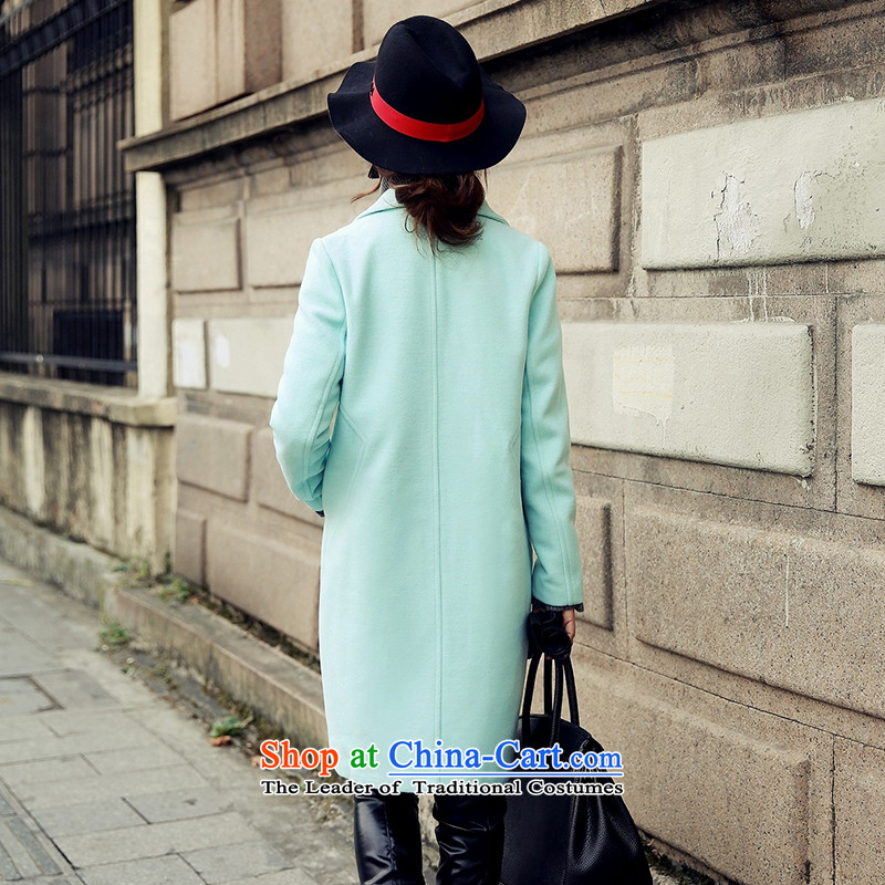 Statements were made by Lau autumn and winter new stylish gross in long wind? jacket SA and Color聽M Lau Statement (she says) , , , shopping on the Internet