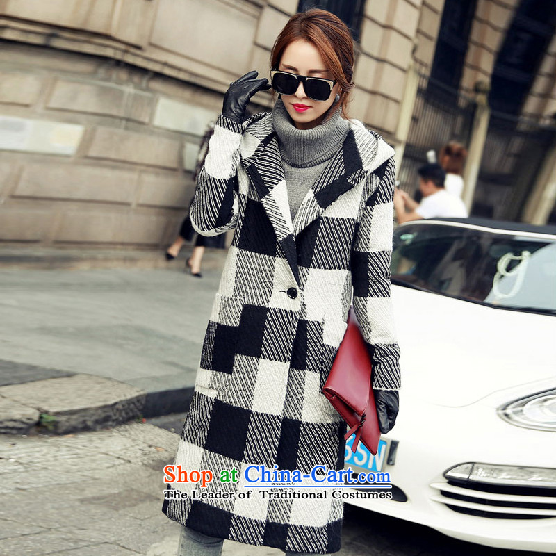 Statements were made by the 2015 autumn and winter Lau Hin thin hair? overcoat SA light gray XL
