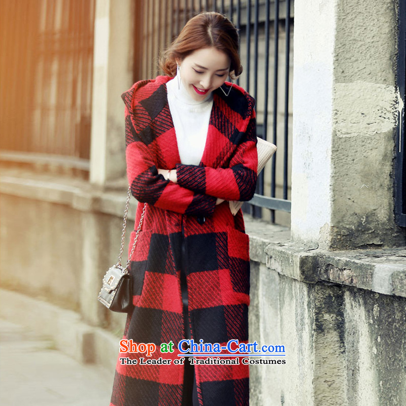 Statements were made by the�15 autumn and winter Lau Hin thin hair? overcoat SA RED燤