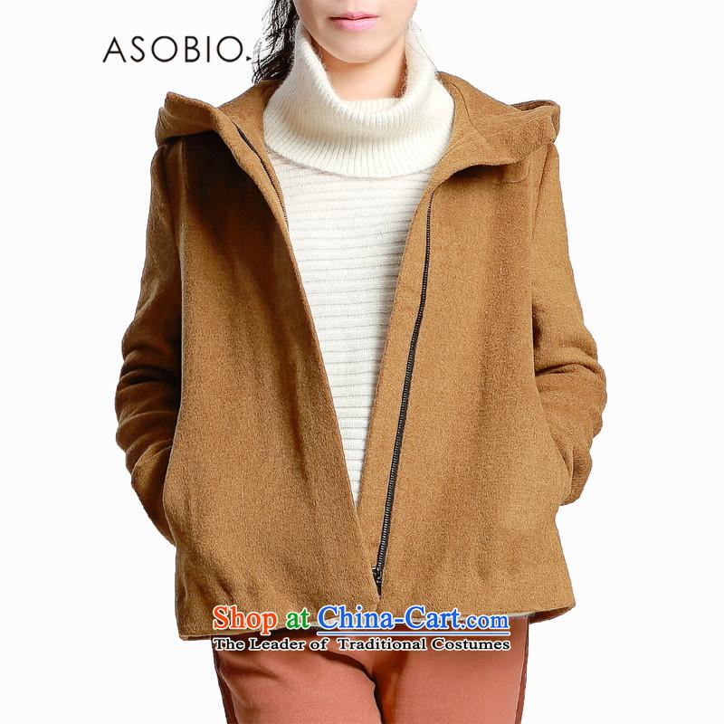 Asobio 爏olid color cap Ms. Jacket coat�43435780?爂reen tea _530 -160_84A_S