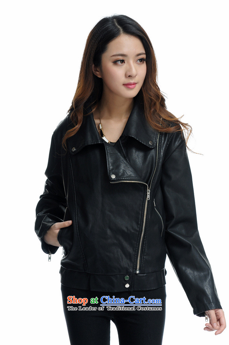 Gilland adjustable to xl female PU Leather Jackets mm thick Korean thick sister winter 2015 New 2198 Black聽XXXXXL Sau San Picture, prices, brand platters! The elections are supplied in the national character of distribution, so action, buy now enjoy more preferential! As soon as possible.