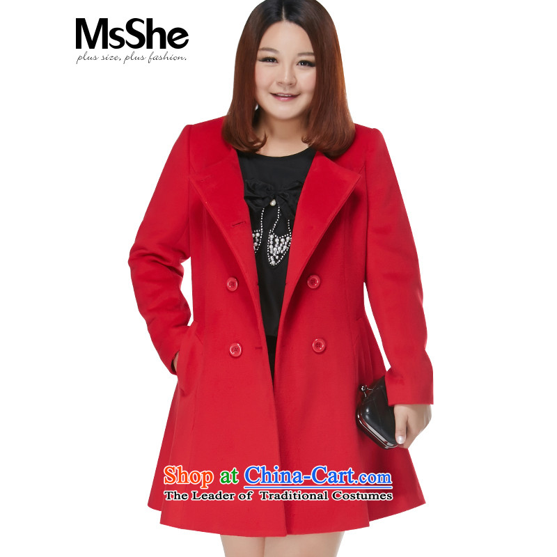 The Ventricular Hypertrophy code msshe women 2015 new winter clothing thick MM double-oblique-bag? 10783 coats of gross�L red