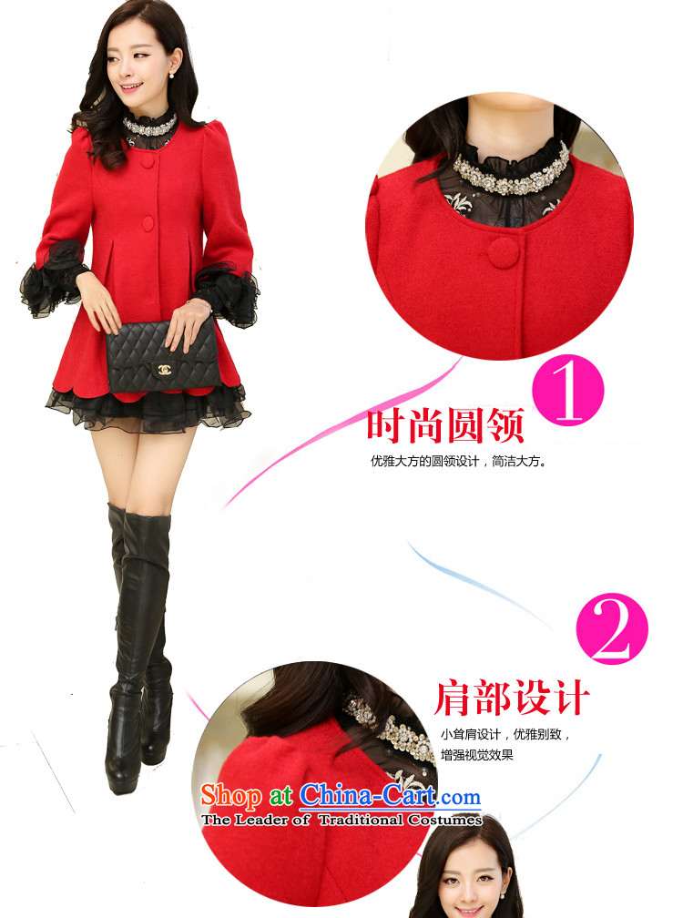 The United States and Li 2015 autumn and winter new embroidery lace cloak shawl gross short?)? COAT 2368 Red聽L picture, prices, brand platters! The elections are supplied in the national character of distribution, so action, buy now enjoy more preferential! As soon as possible.