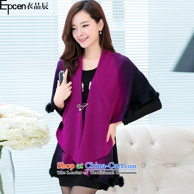 Yi Jin _epcen No. 2015_, autumn and winter new knitting shawl DSD6909 better red are code