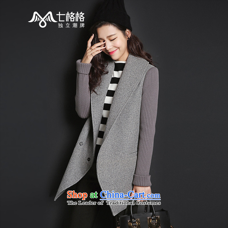 _Non-dual 12- _ pre-sale 7 2015 winter Princess Returning Pearl New Large lapel so Coat female dark gray -_ pre-sale, starting from 5 December of燬