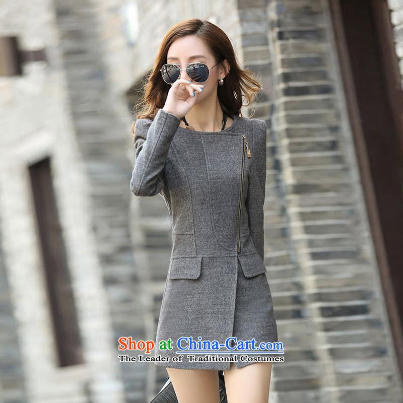 In the Video   Yue thin hair? coats SA gray爏