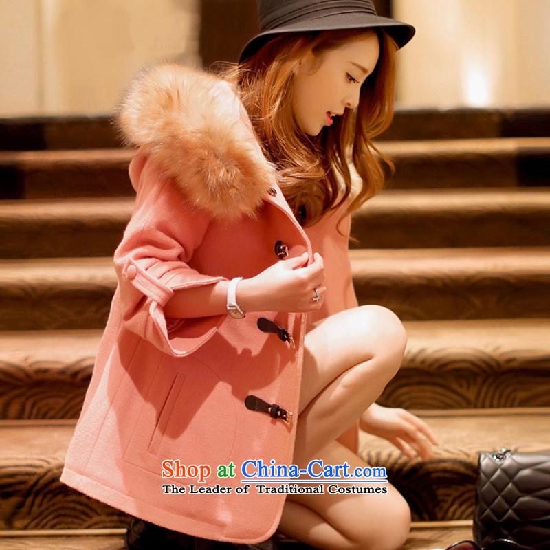 Wooden Geun-hye in winter long campaign for gross? coats sub 880 pinkXXXL/180(100A)