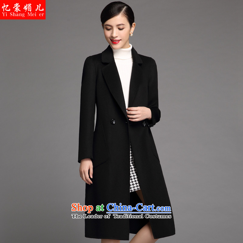 The Advisory Committee recalls that a non-cashmere cloak of female 2015 winter clothing in new women's long double-side coats woolen coat female 530 Black?XL