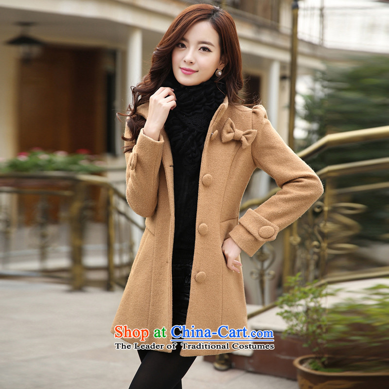 8Included in long park cashmere overcoat and gross? color燲L