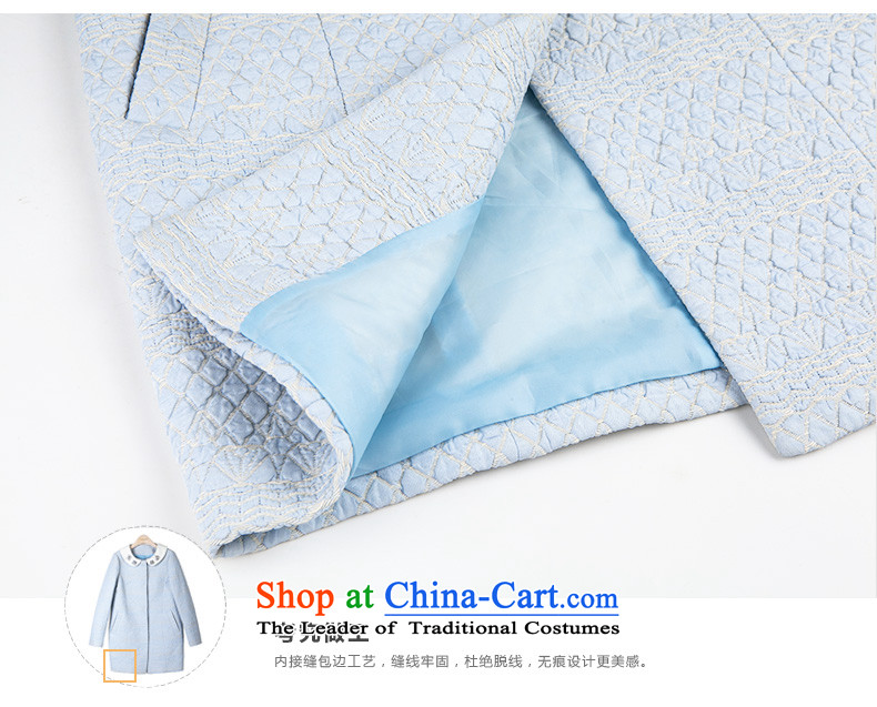 One meter Sunshine2015 winter clothing new small wind women's gross incense? Long girls jacket Korean minimalist Sau San a wool coat female blueS picture, prices, brand platters! The elections are supplied in the national character of distribution, so action, buy now enjoy more preferential! As soon as possible.