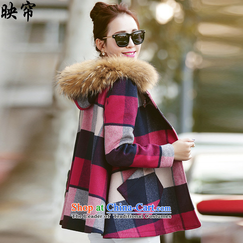 Image curtain fall and winter 2015 for women in the new long block Gross Gross for female爕1518_ coats爌ictures? color燲L