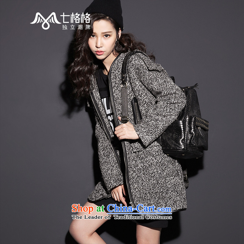 _Non-dual 12 pre-sale _ 7- Pearl 2015 winter new high quality double pocketed a female gray coat??� s pre-sale on 10 December, _