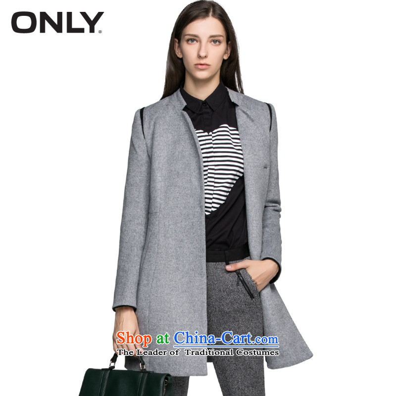 Load New autumn ONLY2015 included wool Foutune of crop in the long coats female L|11534s018 gross? 100 gray�5_84A_M