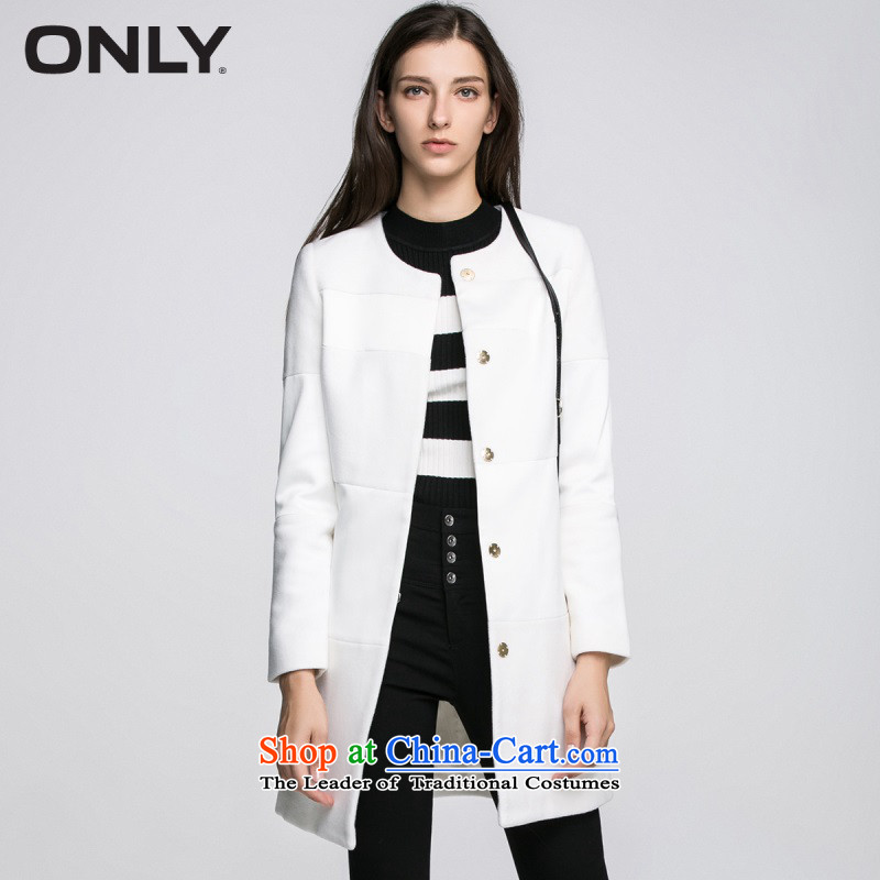 Load New autumn ONLY2015 included wool stitching in long coats female L|11534s017 gross? 021 milk white�5_84A_M