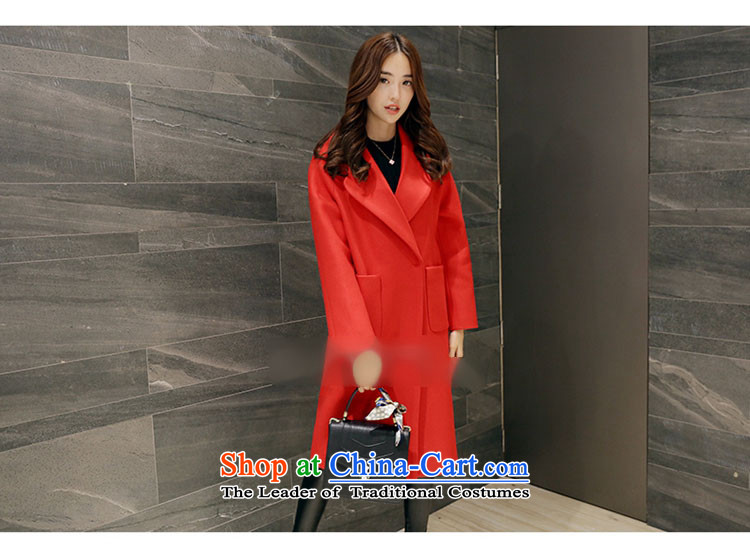 Sin has聽new winter 2015 stylish look of Sau San video thin warm relaxd trend in long lapel Korean female red cloak gross?聽M picture, prices, brand platters! The elections are supplied in the national character of distribution, so action, buy now enjoy more preferential! As soon as possible.