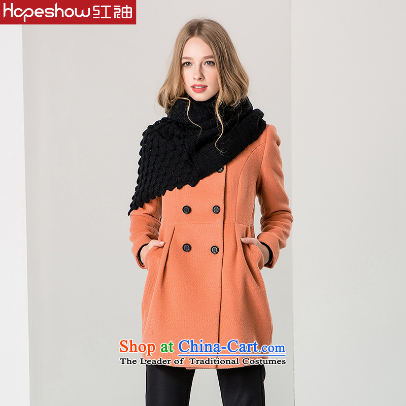 Red sleeved winter Korean gross overcoats?? coats E6540234A rouge tonerL