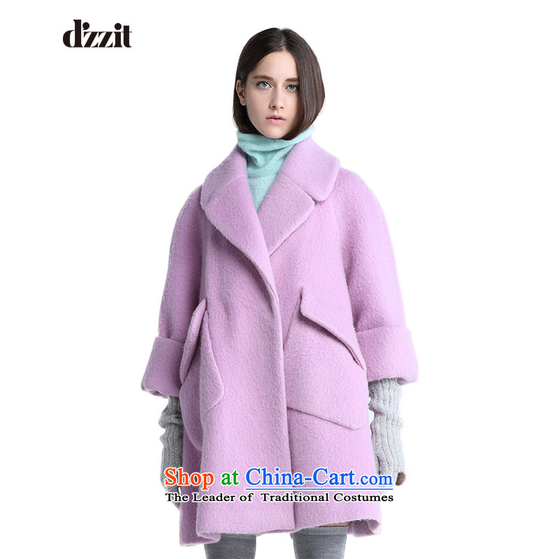 In winter, of d'zzit can be removed from the 7 to the cuff type under a woolen coat�4G295牋155XS light purple