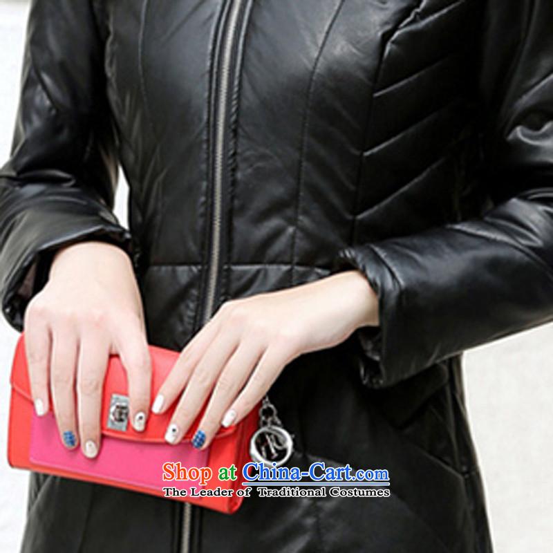 In 2015, Ms. viewaken New聽PU leather jacket fur coats jacket black聽XXXL,VIEWAKEN,,, shopping on the Internet