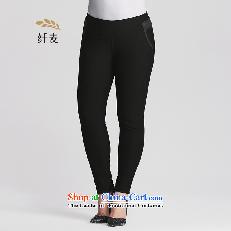 The former Yugoslavia Migdal Code women 2015 winter clothing, forming the new mm thick video thin trousers and pants953281881 thickblack velvet5XL