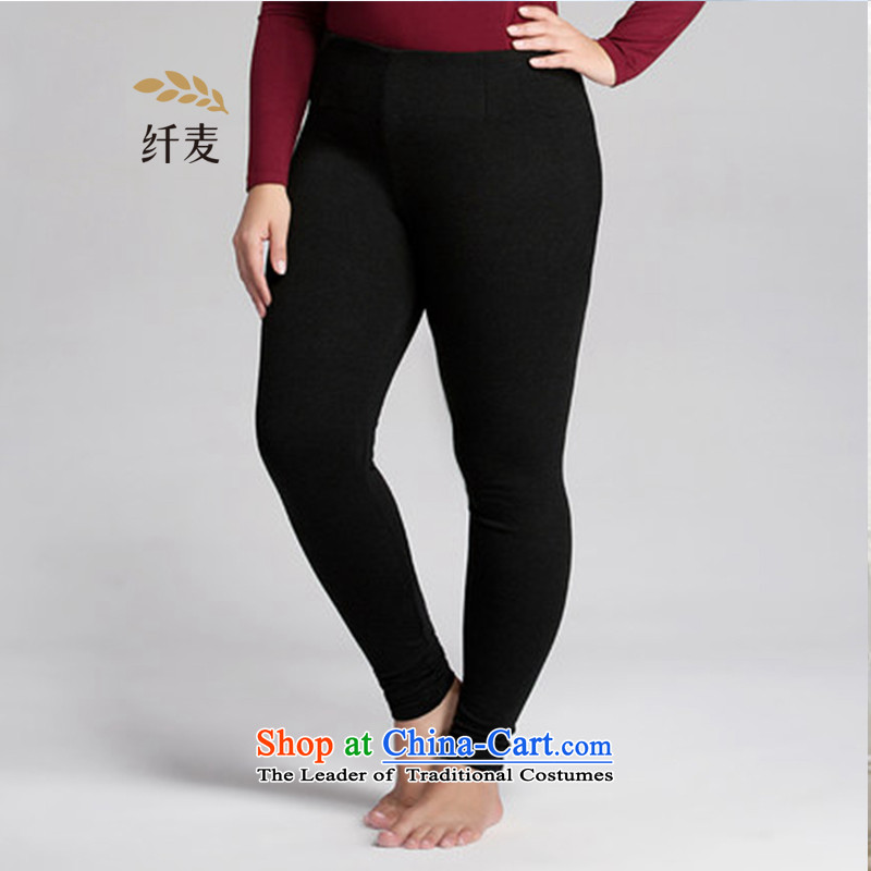 The former Yugoslavia mecca for larger women wear trousers warm trousers thick mm Warm underwear tight trousers autumn trousers female聽553281498聽Gray聽4XL