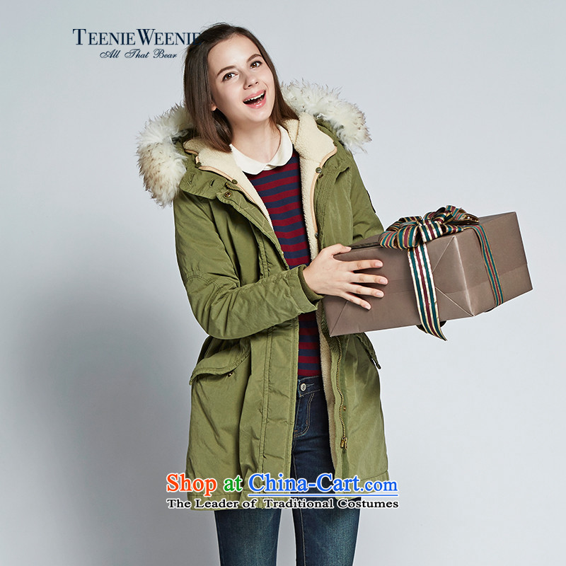 Teenie weenie Cubs 2015 counters for autumn and winter new products for women with cap Leisure Services TTJP5FT01I Cotton Khaki?170_L