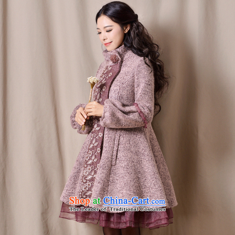 Fireworks Hot Winter 2015 new women's long-sleeved lanterns sweet gross surplus coat jacket incense? rose and color燬 pre-sale 25 Days
