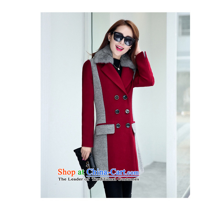Wooden Geun-hye in double-long stitching knocked colors red M/160(84a) jacket? 902 pictures, prices, brand platters! The elections are supplied in the national character of distribution, so action, buy now enjoy more preferential! As soon as possible.