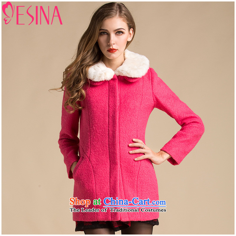 Hundreds of new winter Xin gross coats in female long? jacket, gross for Mrs minimalist, sweet temperament Sau San female pink?S