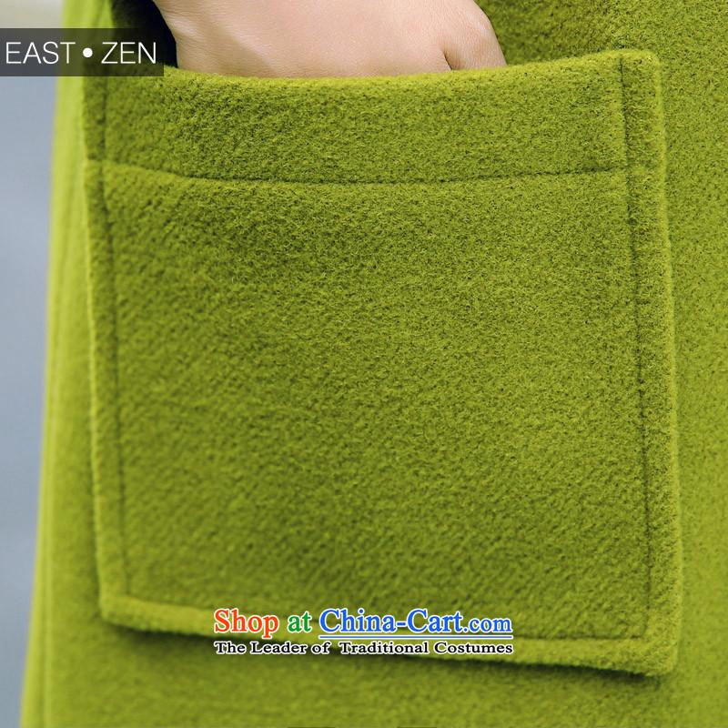8Pak Long Hair? coats of Sau San聽XXL, dark green silk jackets Park shopping on the Internet has been pressed.