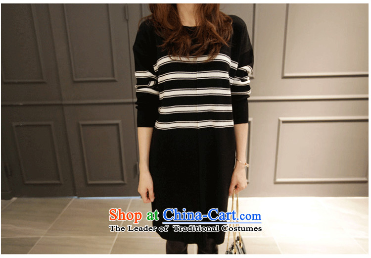 Xiang Jiang 2015 large female autumn and winter new to increase the burden of Knitted Shirt sweater 200 thick sister dresses long shirts, forming the Netherlands picture color large code causing 546.5 5XL picture, prices, brand platters! The elections are supplied in the national character of distribution, so action, buy now enjoy more preferential! As soon as possible.